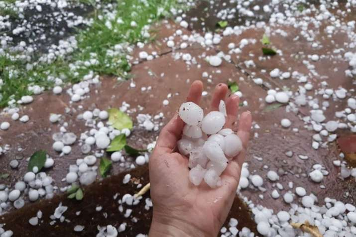 Hailstorm and Rainfall warning- India TV Paisa