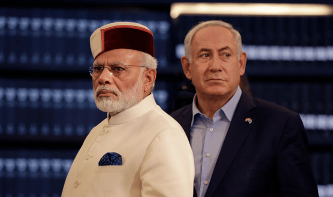 Narendra Modi and Benjamin Netanyahu | AP Photo- India TV Hindi