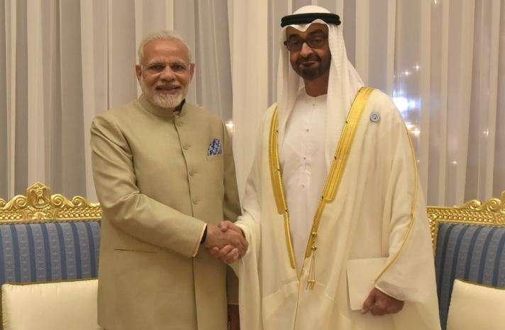 PM Modi Abu Dhabi Visit- India TV Paisa