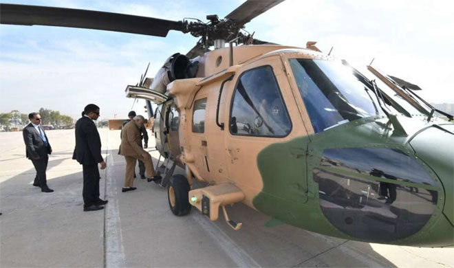 PM Modi takes a chopper of Jordan government to reach Ramallah and escorted by Israel Air Force- India TV Hindi