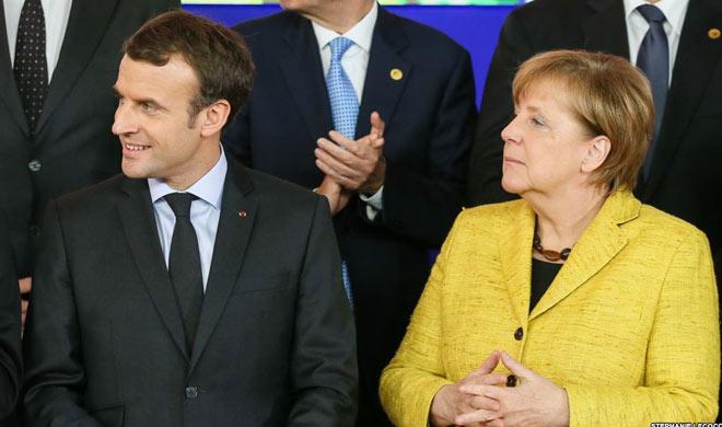 Macron Merkel will discuss with Putin on the ceasefire...- India TV