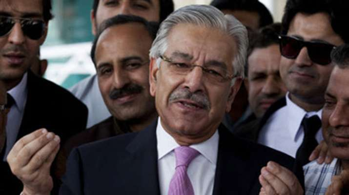 India trying to resolve Kashmir through barrel of gun, says Khawaja Asif   AP Photo- India TV Hindi