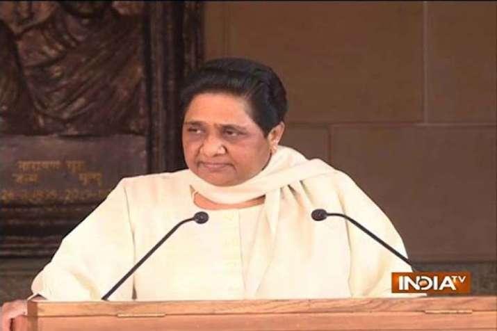Mayawati big attack on PM Modi and BJP's on Dalit issue- India TV Hindi