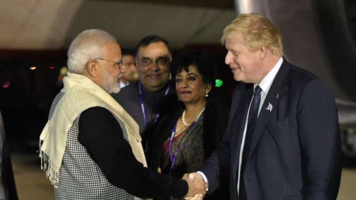 PM Modi reaches London, to do 'Bharat ki Baat'- India TV Hindi