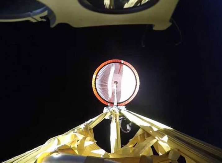 Mars supersonic parachute sent high up in successful...- India TV Hindi