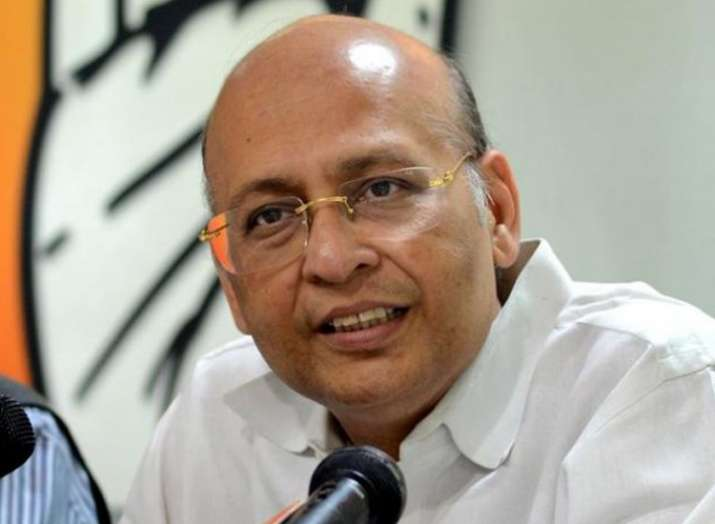 abhishek manu singhvi- India TV Hindi