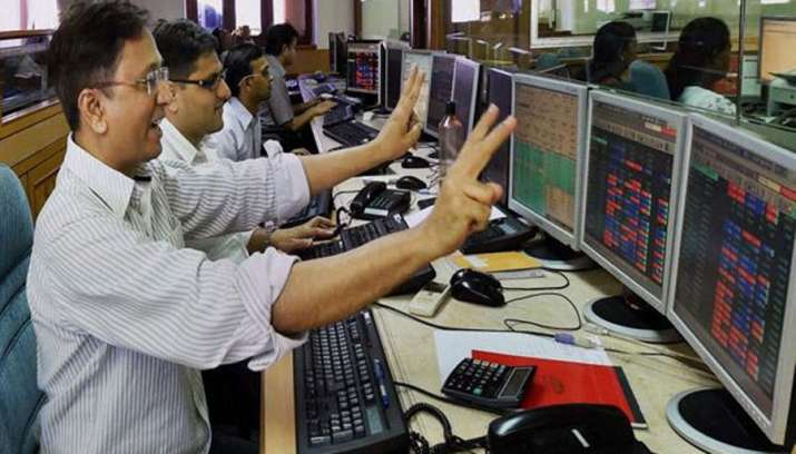 Sensex and Nifty opens positive before March Quarter GDP data release- India TV Paisa