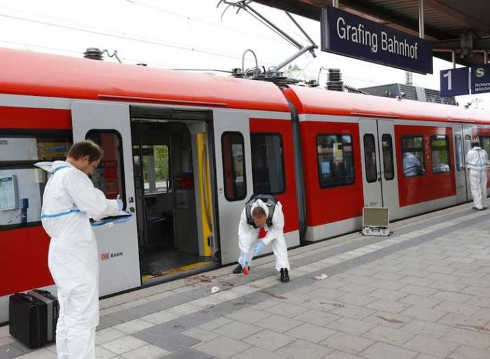 German police 1 dead 2 injured in knife attack on...- India TV