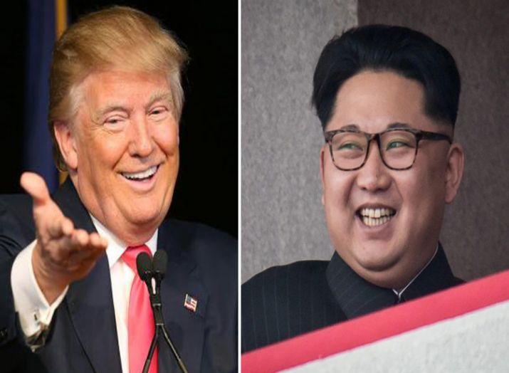 donald trump and kim jong un- India TV