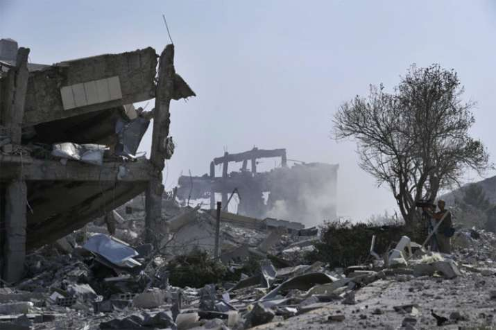 Russian airstrikes in southern Syria kill 22 civilians, says Syrian Observatory for Human Rights   A- India TV Hindi