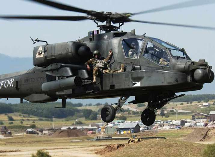 US to sell 6 AH-64 Apache helicopters to india- India TV Hindi