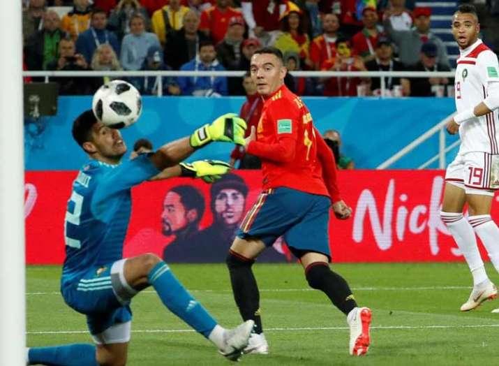 Spain claim dramatic draw against Morocco- India TV Hindi