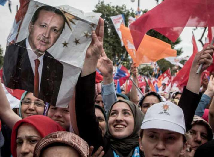 Turkey election Erdogan wins second term as president- India TV Hindi