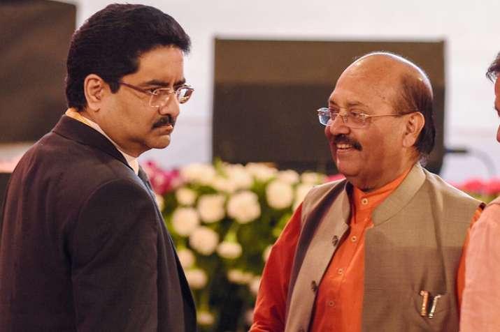 Lucknow: Rajya Sabha member Amar Singh and industrialist...- India TV Hindi