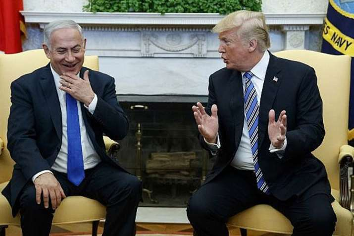 Benjamin Netanyahu and Donald Trump | AP Photo- India TV Hindi