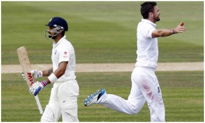 विराट कोहली और जेम्स...- India TV