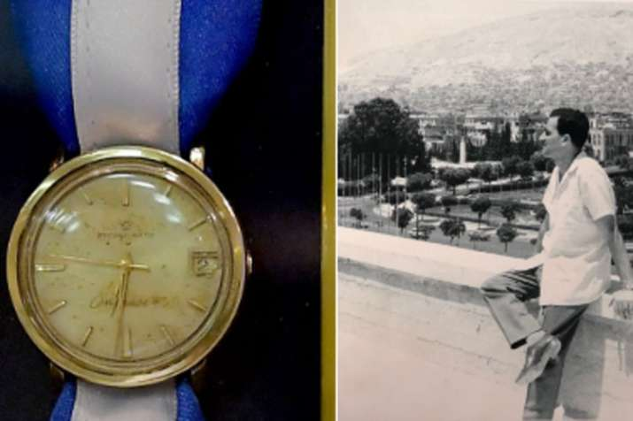 Watch of Israeli spy Eli Cohen recovered by Mossad in secret operation | GPO- India TV Hindi