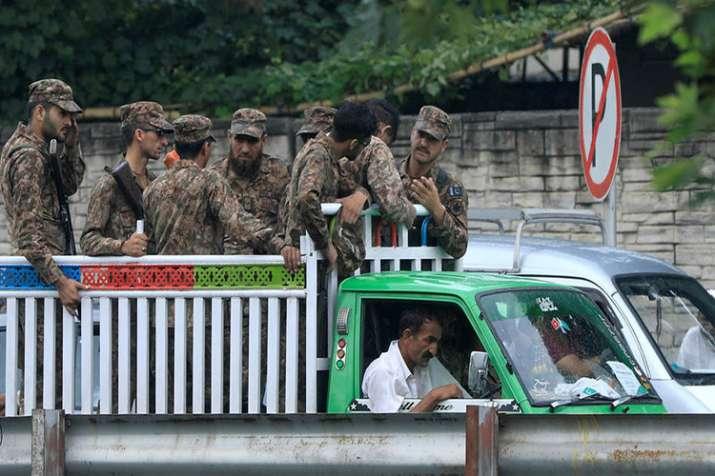 high security in pakistan- India TV