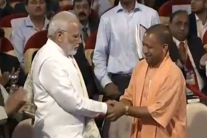 PM Narendra Modi with UP CM Yogi Adityanath- India TV Hindi