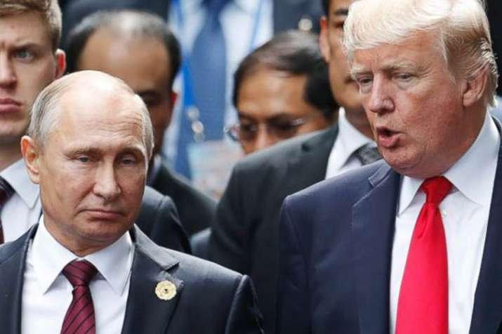Donald Trump arrives at Helsinki for the first...- India TV