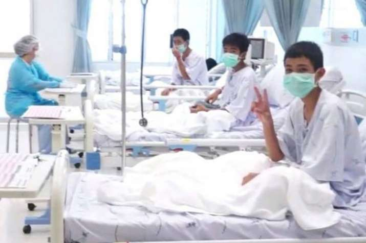 Thailand Children rescued from cave today will be...- India TV Hindi