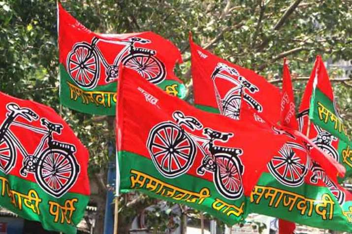 Samajwadi Party Releases Video Mocking BJP Poll...- India TV