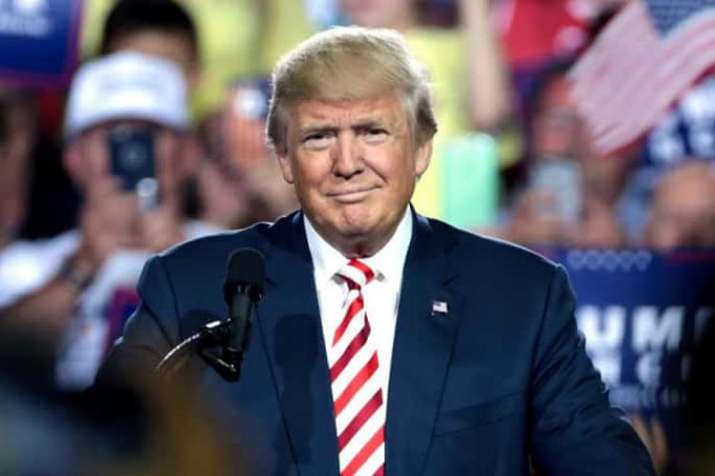 US President Donald Trump arrives in UK on 4-day...- India TV
