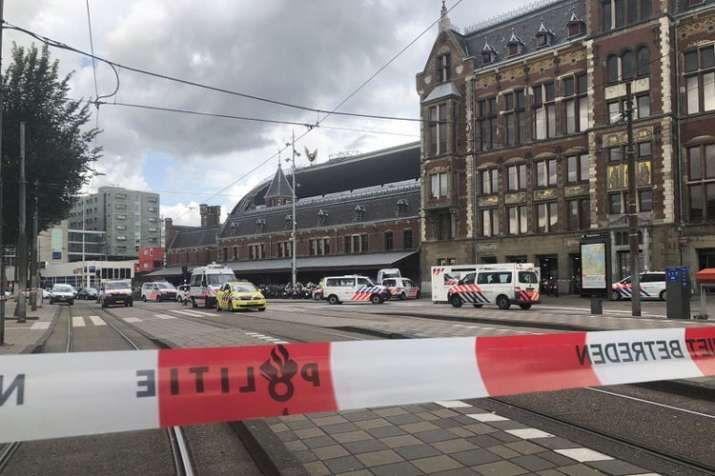 Amsterdam station attack: Police shoot suspect after double stabbing | AP- India TV