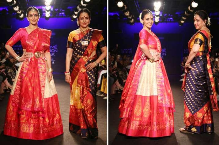 Hema malini and Esha Deol- India TV