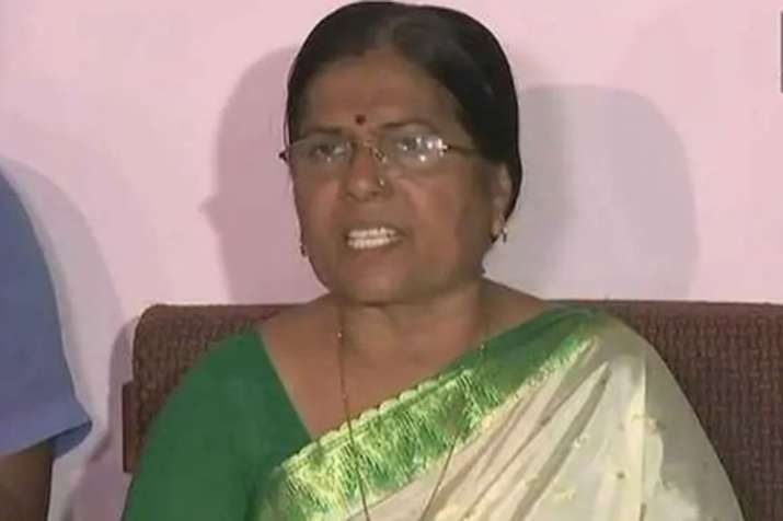 Bihar minister Manju Verma resigns over Muzaffarpur shelter home rape case | ANI- India TV Hindi