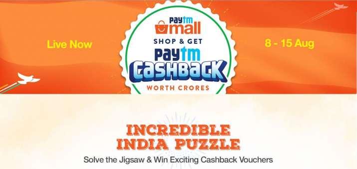 Paytm Freedom Cashback Sale- India TV Paisa