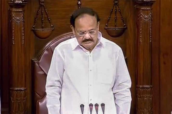 Rajya Sabha adjourned for day as mark of respect to M Karunanidhi   PTI- India TV Hindi