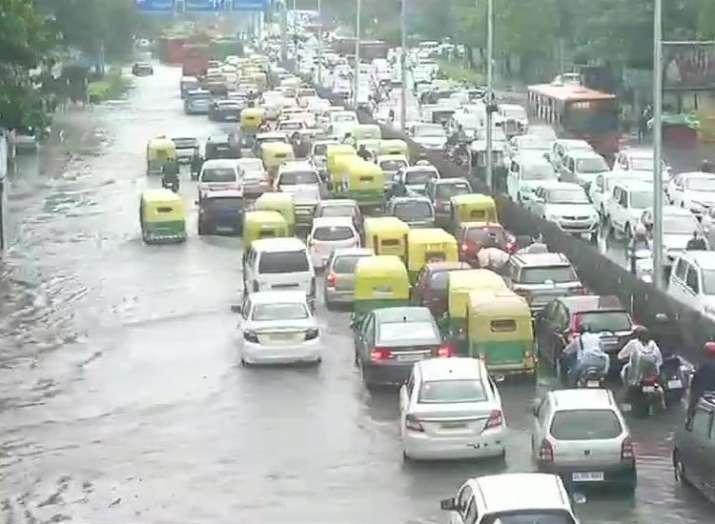 Heavy rains in Delhi- India TV