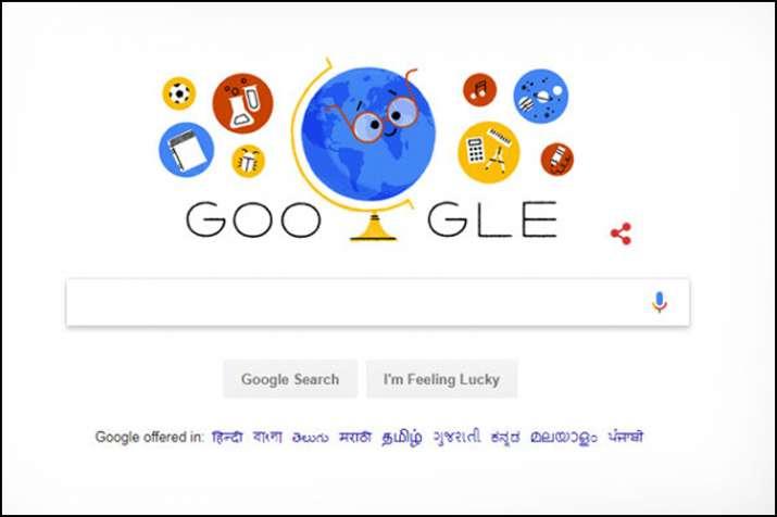 Teachers Day:  गूगल ने डूडल बनाकर मनाया शिक्षक दिवस- India TV