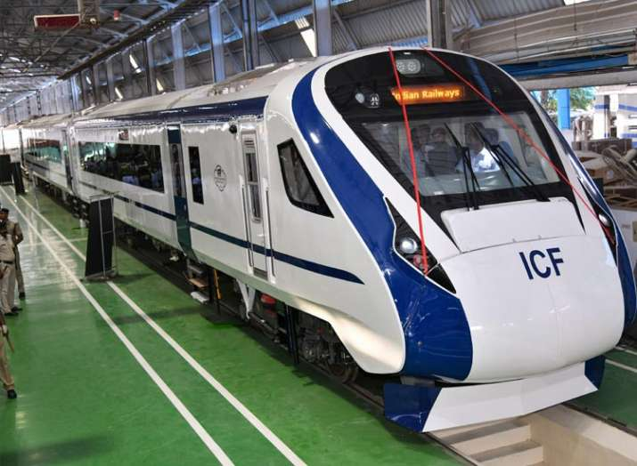 Train 18: Country's first engine-less train rolled out; Train 20 next- India TV