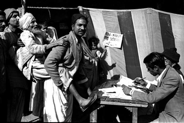 1st General Elections in India on October 25th 1951- India TV Hindi
