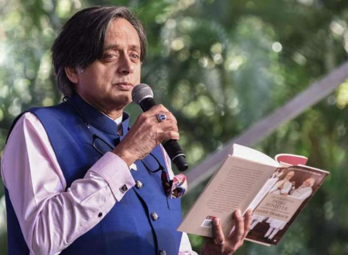 Shashi Tharoor quotes 'RSS source' to make controversial remark on PM Modi; BJP gives stinging respo- India TV