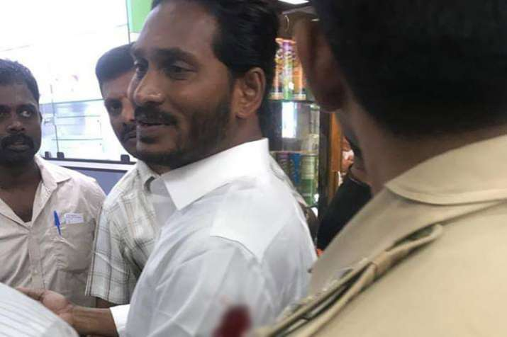 YSR Congress chief Jaganmohan Reddy attacked at Visakhapatnam Airport- India TV