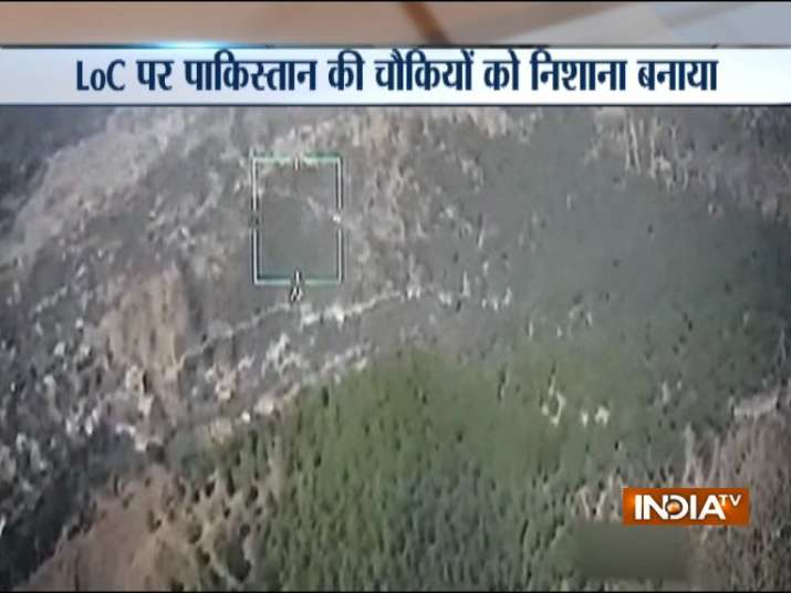 Pakistan army administrative HQ targeted along LoC near Poonch by Indian Army- India TV Hindi