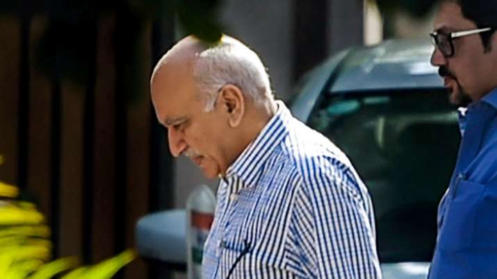 M J Akbar's Statement in court on sexual harassment allegations under MeToo- India TV Hindi