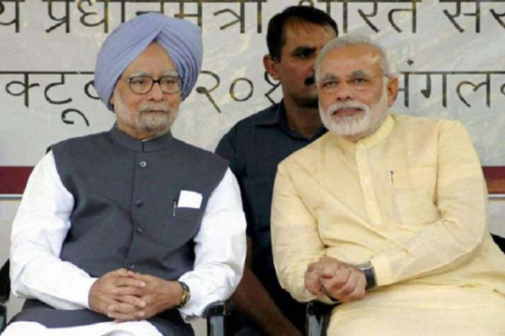 Manmohan Singh and Narendra Modi- India TV Hindi