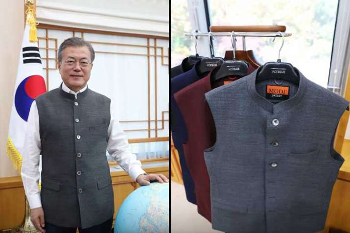 PM Modi gifts 'Modi jackets' to South Korean President...- India TV Hindi
