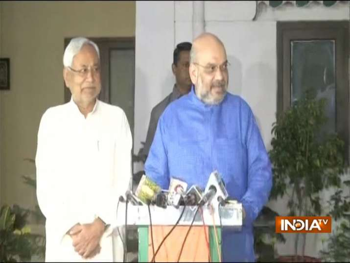 Seat sharing finalized between BJP and JDU in Bihar for 2019 General Elections- India TV Hindi