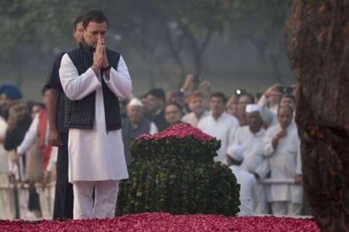 इंदिरा गांधी की पुण्यतिथि पर मनमोहन, सोनिया, राहुल ने श्रद्धांजलि दी- India TV