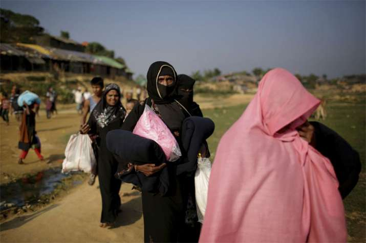Seven Rohingya Muslims to be deported to Myanmar claims a report- India TV Hindi