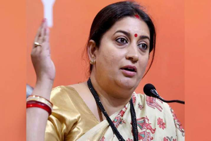 Smriti Irani Statement on Sabarimala issue- India TV