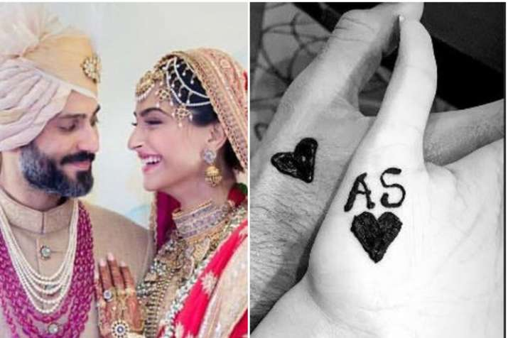 Sonam Kapoor and Anand Ahuja celebrating their first Karva Chauth- India TV