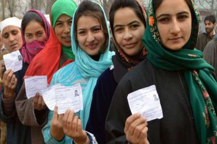 Fourth phase Of Jammu and Kashmir panchayat polls- India TV