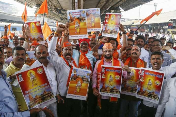 राम नगरी अयोध्या किले में तब्दील- India TV