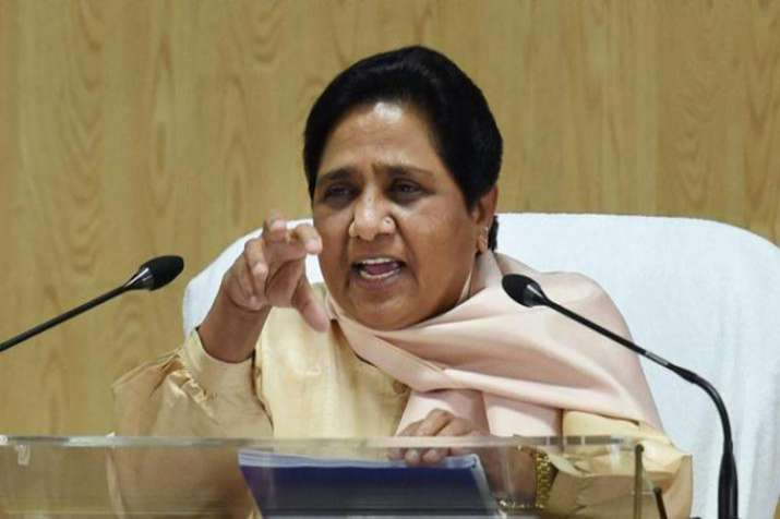 Mayawati's strong criticism of BJP, Shiv Sena on raising Ram temple issue before election- India TV Hindi